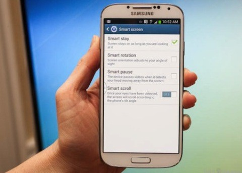 Tính năng mới thú vị trên Galaxy S4