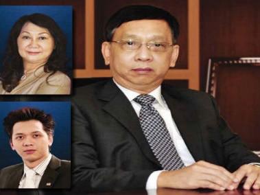 Gia đình ông Trần Mộng Hùng
