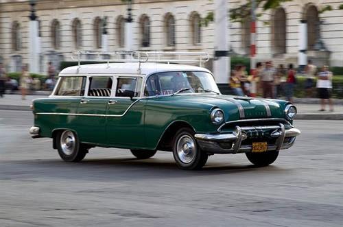 Xế cổ tại thủ đô Cuba - ảnh 2