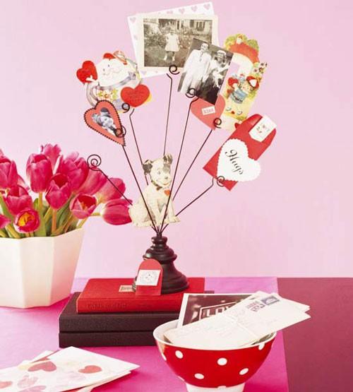 Những ý tưởng trang trí lãng mạn cho Valentine - ảnh 26