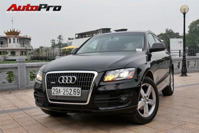 Audi Q5 là đối thủ đáng gờm của BMW X3 và Mercedes-Benz GLK