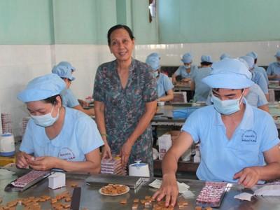 Xưởng sản xuất kẹo dừa Ngọc Lan (Bến Tre) khởi nghiệp bằng những đồng vốn vay Agribank