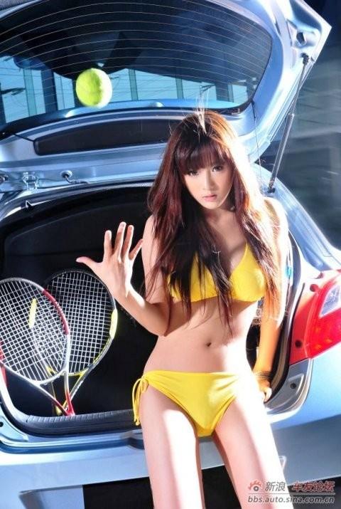Thiếu nữ xinh đẹp bên Mazda - ảnh 8