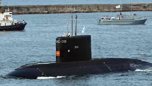 Tàu ngầm tàng hình tối tân sắp được bàn giao cho Việt Nam. Ảnh: Ria Novosti