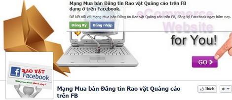 Mô hình quảng cáo trên Facbook cá nhân rất phổ biến tại Việt Nam