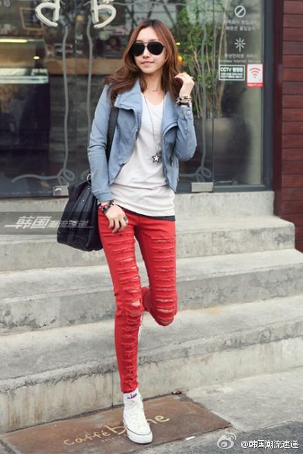 Cuối tuần xuống phố cực chất với quần jeans - ảnh 17