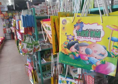 Nhiều sách thiếu nhi có nguồn gốc Trung Quốc tràn lan trên thị trường