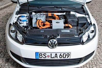 Hình ảnh đầu tiên của Volkswagen Golf chạy điện - ảnh 2