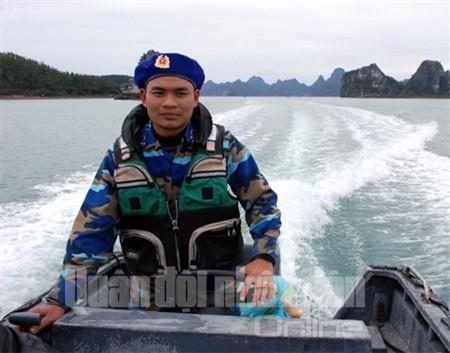 Xuồng máy, một trong những phương tiện tham gia hiệu quả vào việc truy đuổi đối tượng vi phạm pháp luật trên biển