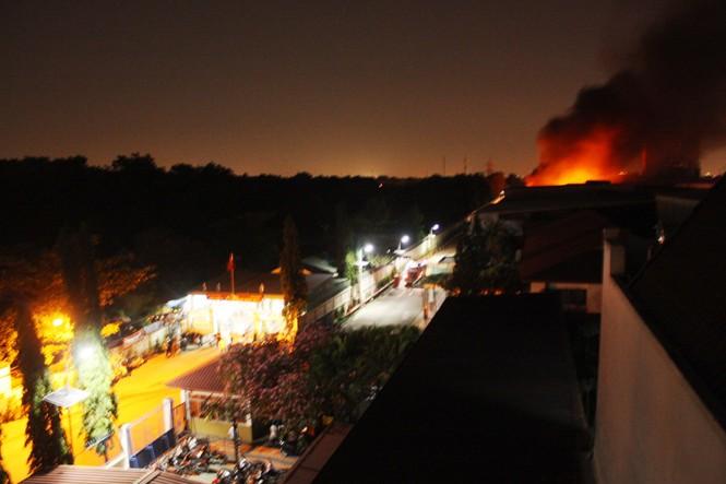 Cháy lớn tại công ty P&G - ảnh 2
