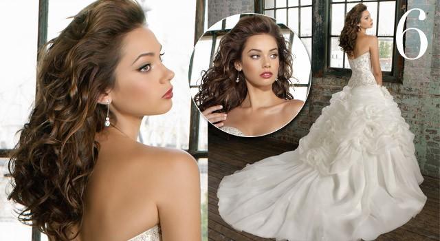 Mười kiểu tóc cô dâu 'hot' năm 2011 - ảnh 5
