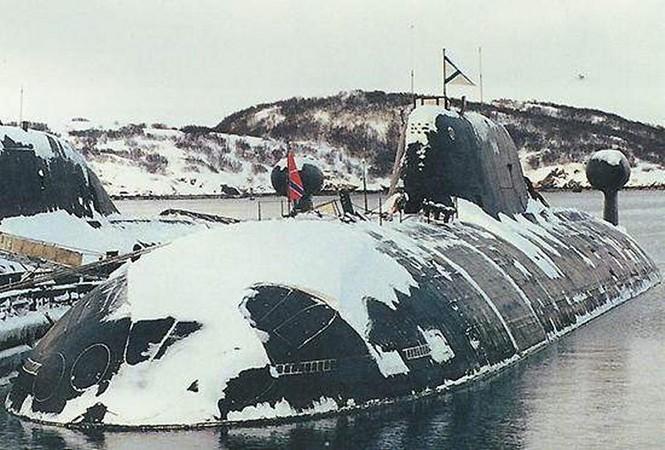 Tàu ngầm Akula thuộc dự án 971