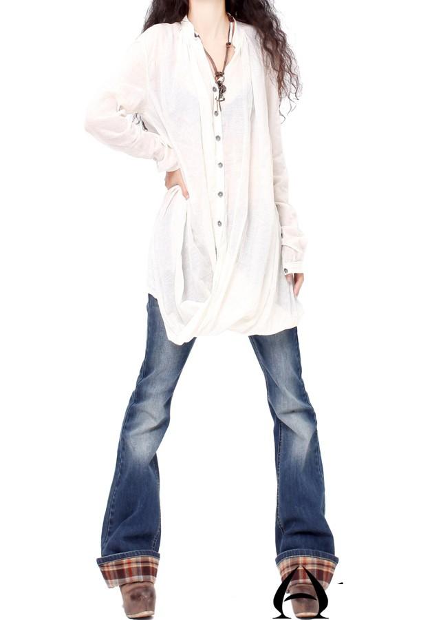 Biến hóa 'cực chất' với áo sơ mi trắng - ảnh 1