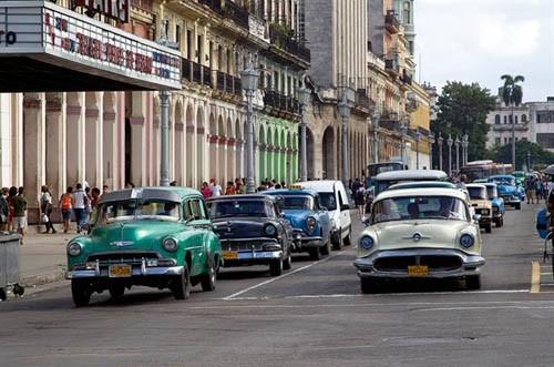 Xế cổ tại thủ đô Cuba - ảnh 3