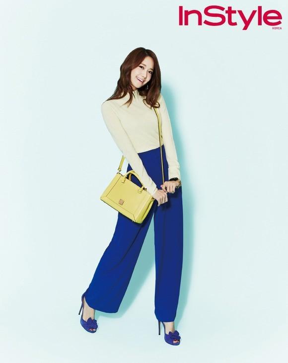 YoonA phong cách trên tạp chí InStyle - ảnh 3