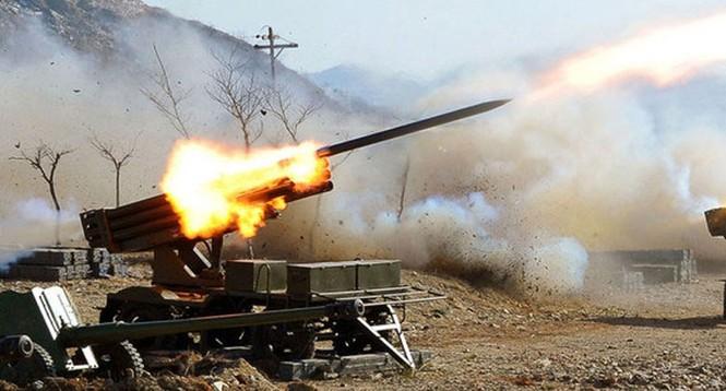 Ảnh mới nhất về cuộc tập trận của Triều Tiên - ảnh 10