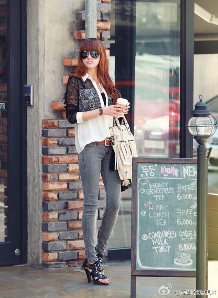Cuối tuần xuống phố cực chất với quần jeans - ảnh 5