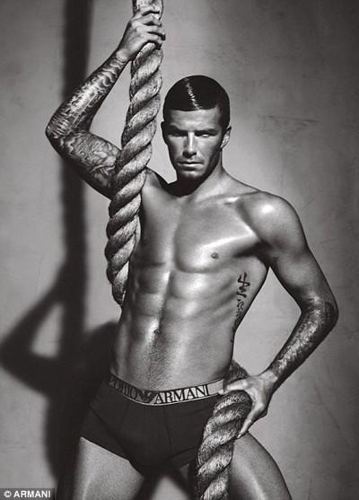 Beckham sẽ không cởi đồ... - ảnh 2