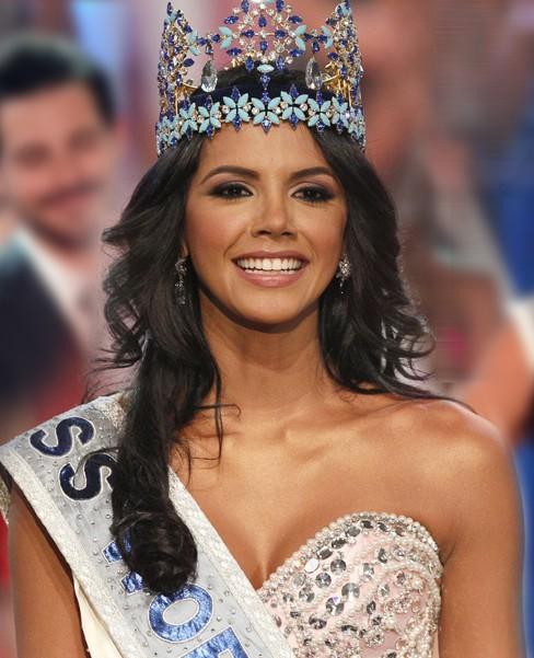 Năm ngoái Hoa hậu thế giới 2011 Ivian Sarcos đã giành ngôi Miss Grand Slam rất thuyết phục vì cô sở hữu nhan sắc nổi trội