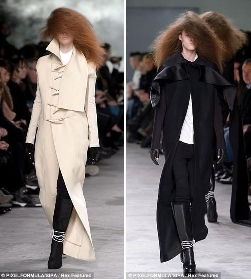 Những kiểu tóc 'nổi loạn' trên sàn catwalk Paris - ảnh 6