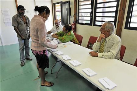 44,5 triệu cử tri nước Pháp đi bỏ phiếu bầu cử tổng thống