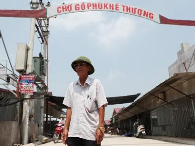 Ông Nguyễn Thành Hưng, trưởng thôn Phù Khê Thượng