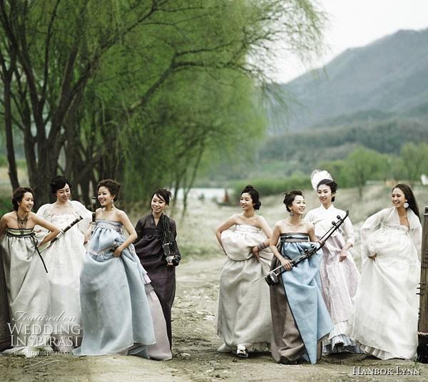 Quyến rũ trang phục cưới Hanbok hiện đại - ảnh 3