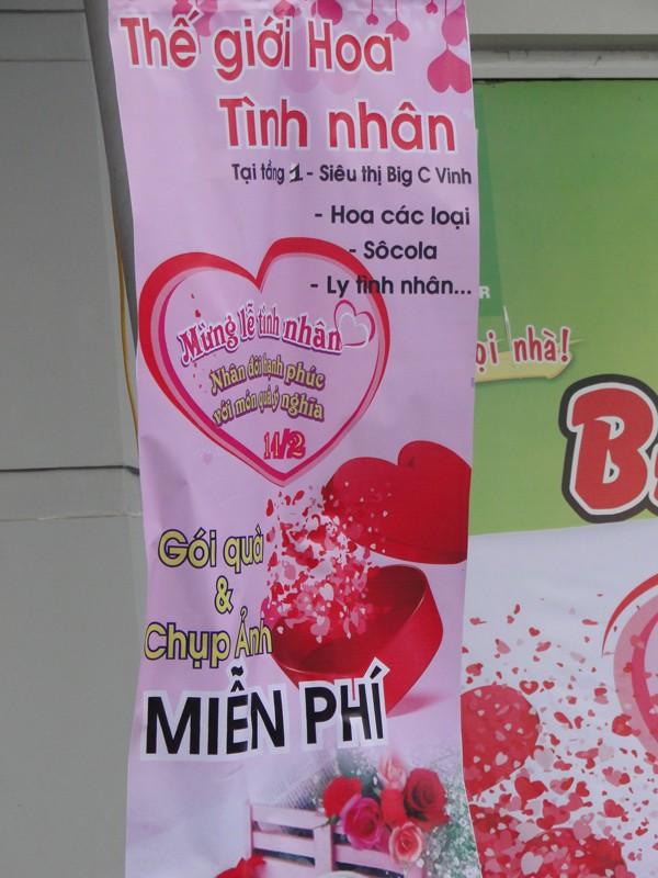 Thông điệp tình yêu ngày Valentine