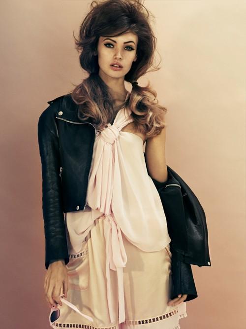 Nét đẹp cổ điển và hiện đại của 'Kate Moss' thứ hai - ảnh 2