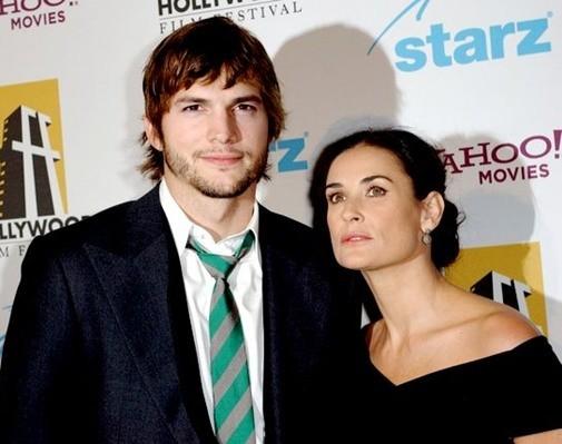 Demi đã suy sụp nặng nề sau khi chia tay với chồng trẻ Ashton Kutcher