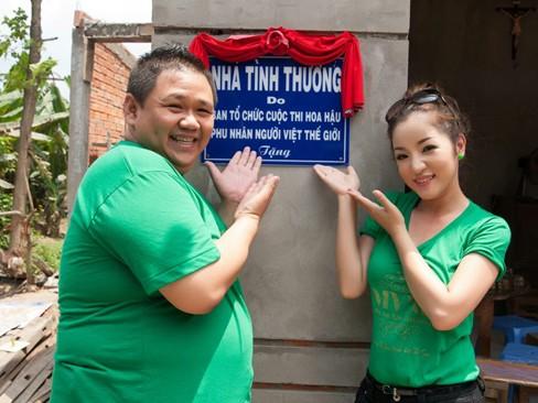 Hà Kiều Anh, Thúy Nga đi từ thiện xuyên Việt - ảnh 7