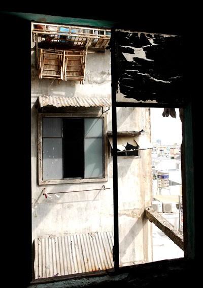 Những căn nhà bỏ hoang