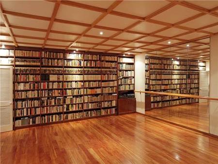 Thư viện kết hợp phòng múa ballet