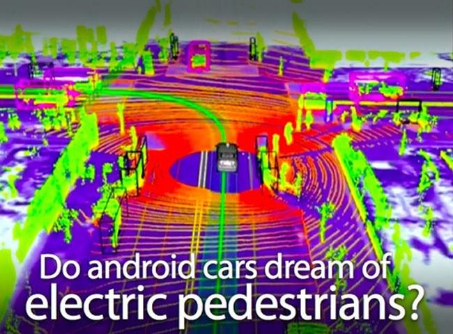 Xe tự lái của Google có khả năng cảm nhận được các đối tượng khác nhau và tính toán những tình huống thường xuyên xảy ra khi tham gia giao thông
