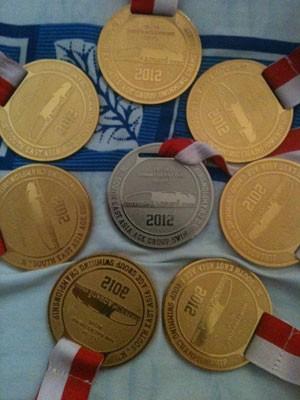 """Năm 2012, Duy Khôi """"gặt hái"""" nhiều HCV và phá nhiều kỷ lục bơi lội"""