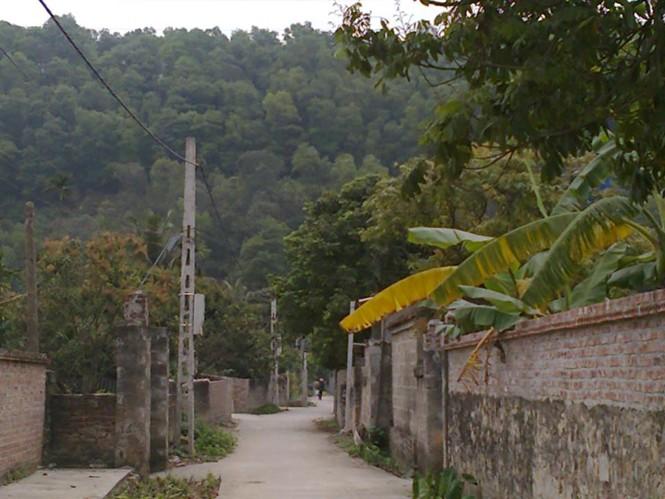 Người dân làng Lâu Động, dù có nhiều nguồn nước vẫn dùng nước giếng thiêng