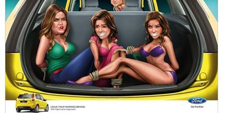 Ford bị 'ném đá' vì quảng cáo phản cảm tại Ấn Độ - ảnh 1
