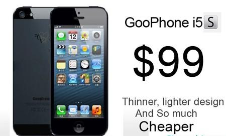 iPhone 5s 'nhái' giá rẻ giật mình - ảnh 1