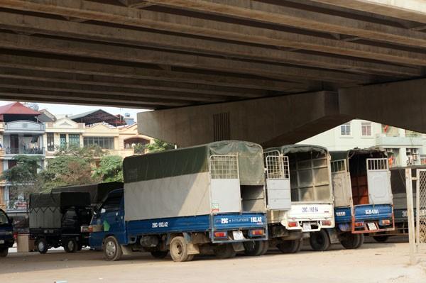 Sở GTVT làm ngơ bãi đỗ xe dưới gầm cầu - ảnh 5