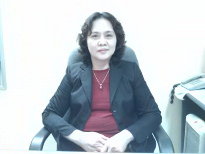 Bà Ngô Thị Hợp - Vụ trưởng Vụ Giáo dục Mầm non