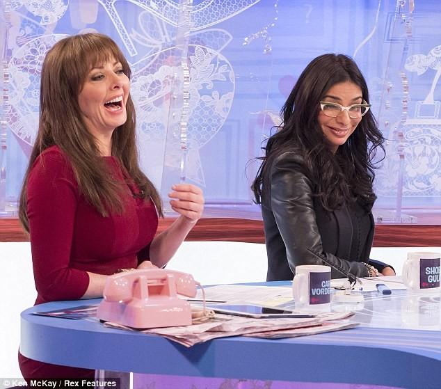 Carol Vorderman hiện đang là một trong những ngôi sao truyền hình đắt show nhất tại Anh