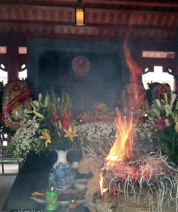 Lư hương hóa tại Truông Bồn