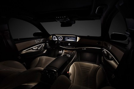 'Ngó' nội thất siêu sang của Mercedes S-Class 2014 - ảnh 1