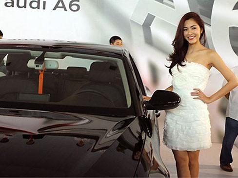 Hà Tăng là đại sứ thương hiệu Audi