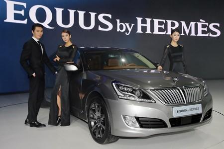 Đẳng cấp thời trang Hermes trên Hyundai Equus - ảnh 4