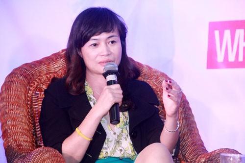 Bà Mai Trang Thanh, Tổng giám đốc Honeywell Vietnam.