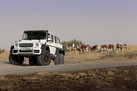 Cận cảnh xe địa hình khủng của Mercedes-Benz - ảnh 13