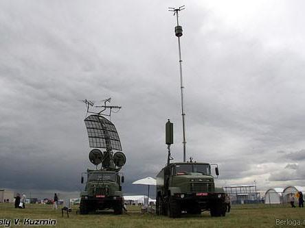 Trạm radar nhìn từ xa
