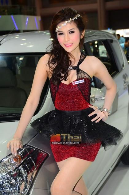 Nhan sắc ngập tràn triển lãm Bangkok 2013 - ảnh 9