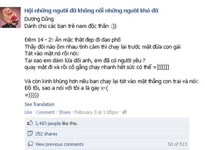 Một trong những trò quậy phá ngày Valentine thu hút hàng trăm comment và hàng nghìn lượt like.